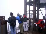 富士山測候所展望台